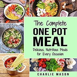 One Pot Cookbook audiobook cover art