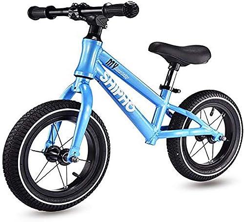 Felices compras Siempre insiste en el éxito Bicicletas de Equilibrio Niños Niños Niños de 2 a 6 años de Edad Coche Deslizante Sin Pedal Cojinete Liso Diseño en Color sólido, 4 Colors (Color   A )  oferta especial