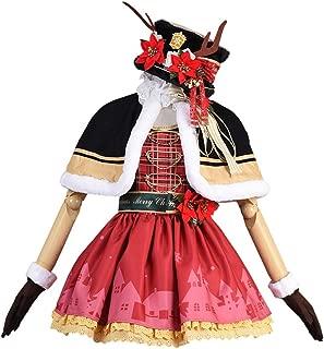 Love Live Sunshine Aqours Maki Nishikino Christmas Dress Cosplay Costume Skirt Full Set