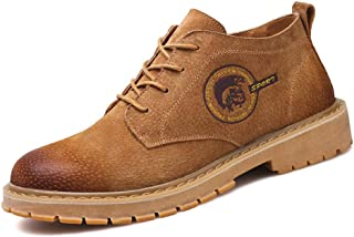 Men's Winter Leather Martin Boot Work Shoes