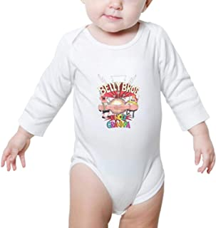 Unisex Baby Uncle-Grandpa-Pizza-Steve Infant Long Sleeve Bodysuit