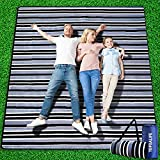 Tofoalife Picnic Blanket,Picnic Blankets Waterproof Foldable Extra Large,Picnic Outdoor Blanket Picnic Mat 80'x80' with 3 Layers Material for Camping Park Beach Hiking Family