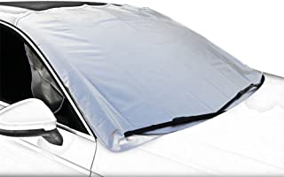 4 Layers Frost Defense Protection for Ice Snow Leaves Sun OTUAYAUTO Snow Ice Windshield Cover Extra Large Windshield Winter Cover Fits Most Car
