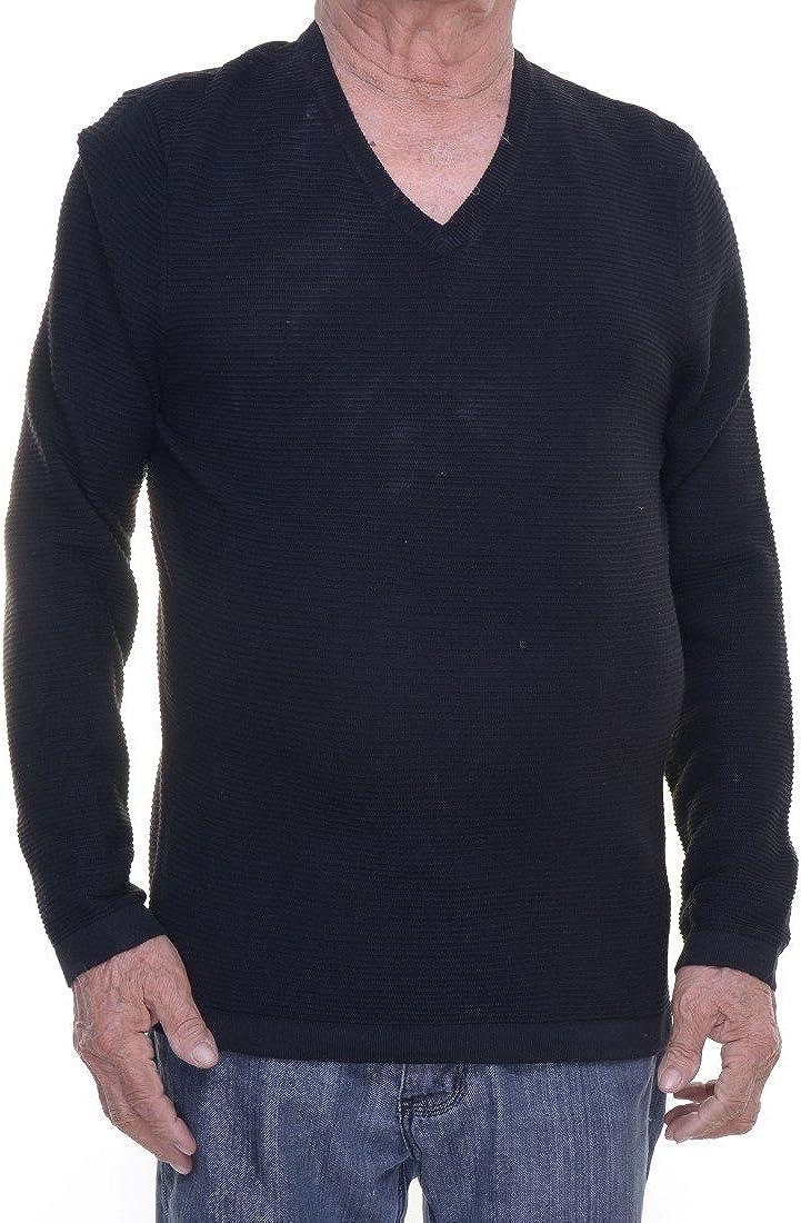 INC International Concepts Men's Zirconia Merino Wool Blend Tonal Stripe Sweater