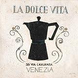 The Poster Corp Arnie Fisk – La Dolce Vita Coffee