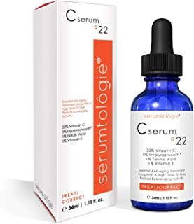 Vitamin C serum 22 by serumtologie Anti Aging - 1.15 oz