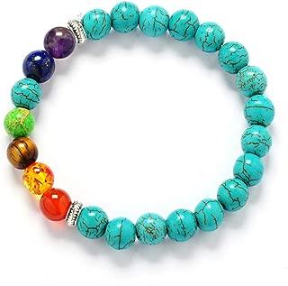 PHLPXL Muti-color Mens Bracelets Black Lava Balance Beads Bracelet For Women racelet Stones Bracelet