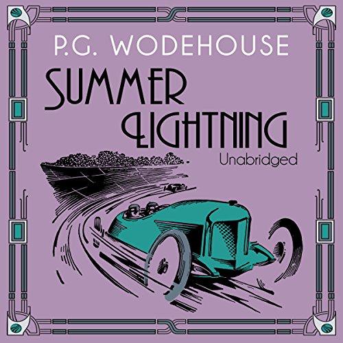 Summer Lightning audiobook cover art