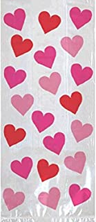 Valentine Key To Your Heart Large Plastic Party Bags, 20 Ct. | Party Accessory