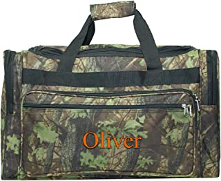 Personalized Large Camo Duffle Bag