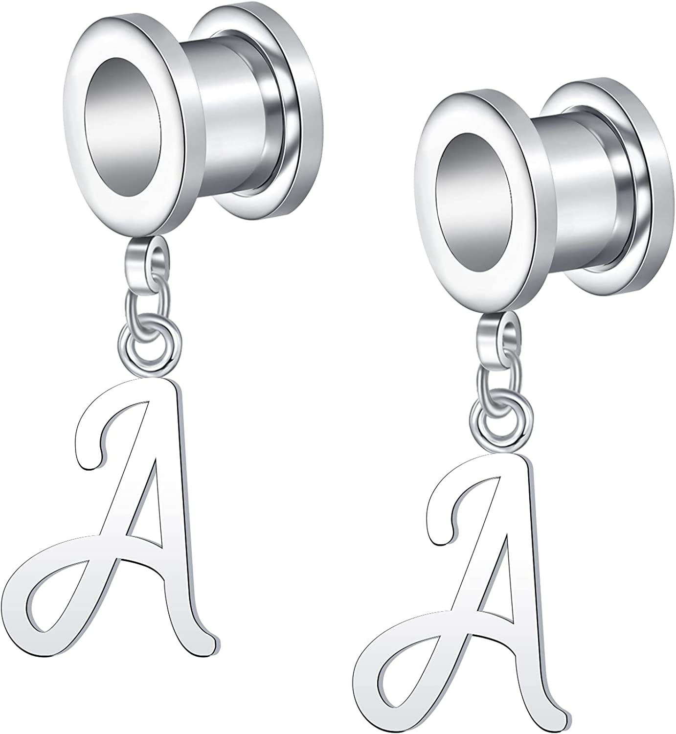 Anicina Custom Earrings Special Campaign New product! New type Stainless Steel Ear Circle D Heart Gauge