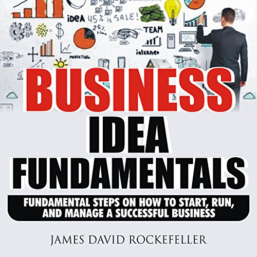 Business Idea Fundamentals: Fundamental Steps on How to Start, Run and Manage a Successful Business audiobook cover art