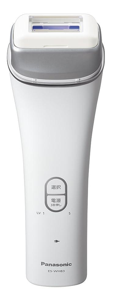 騙す放棄するアニメーションパナソニック 光美容器 光エステ ボディ用 シルバー調 ES-WH83-S