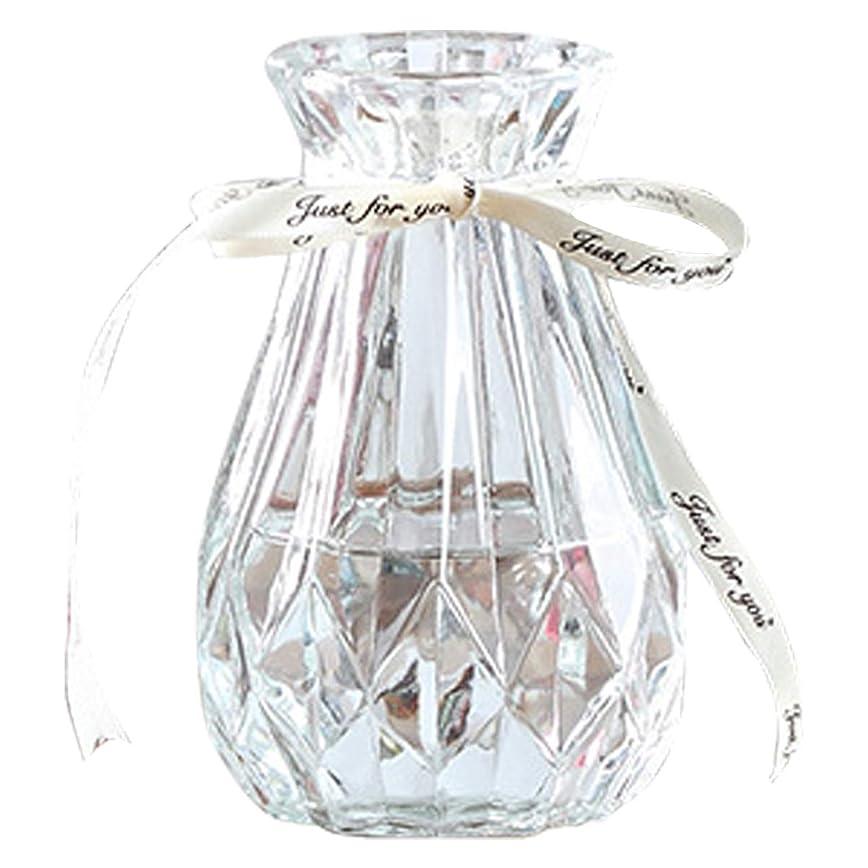 きちんとしたルート支払いHAMILO 花瓶 ガラス フラワーベース 一輪挿し 北欧風 モダン 置物 (クリア)