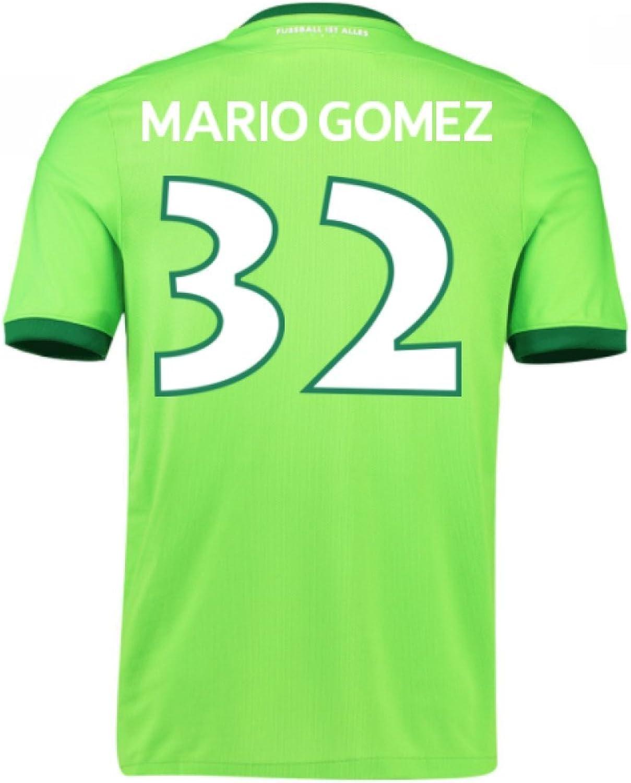 2016-17 Wolfsburg Home Shirt (Mario Gomez 32) - Kids