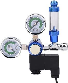 220V Acuario Regulador de CO2 G5 / 8 Depósito de Peces Indicador de presión de CO2 Válvula de Control Contador de Burbujas Planta acuática Sistema de CO2 con solenoide