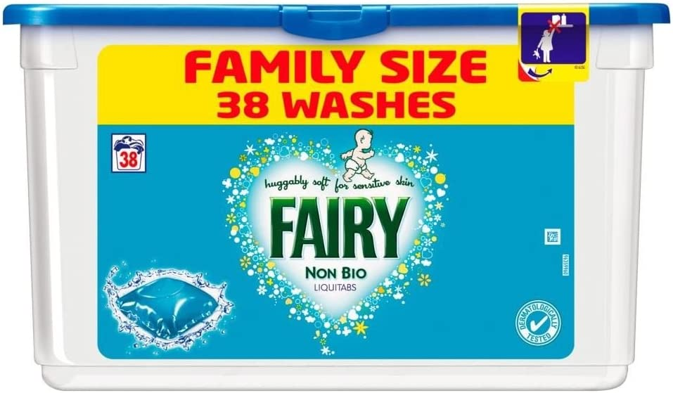Fairy Non Bio Liquitabs Selling - 38 free shipping Washes