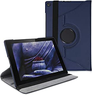 kwmobile Funda para Sony Xperia Tablet Z2 - Carcasa [360 Grados] de [Cuero sintético] para Tablet en [Azul Oscuro]