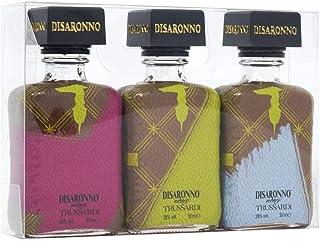 Disaronno Amaretto Trussardi 3x5cl Gift Set (Purple, Green,