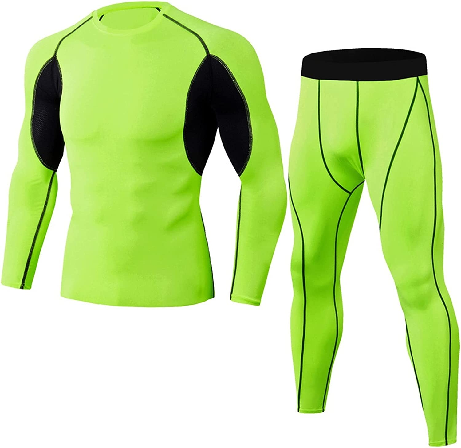 ZYKBB Thermal Underwear Comfortable and Breathable Basic Layer Thermal Underwear Sports Bottomed Tights Shirts Tights (Color : F, Size : XXL code)