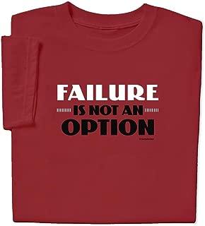 ComputerGear Funny Sayings T Shirt Failure is Not an Option NASA Apollo Tee