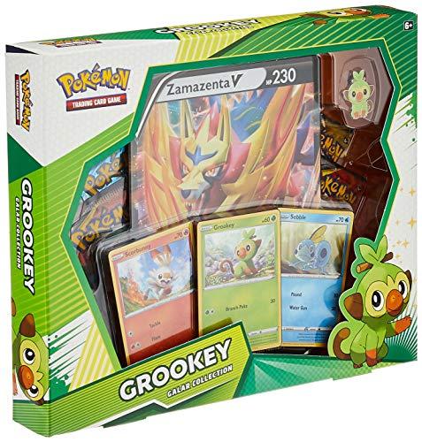 Pokemon 728192511868 TCG: Galar Collection Grookey Box