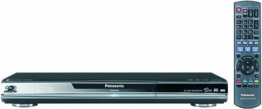Panasonic DMP-BD80 High Clarity Audio Blu-ray Disc Player, Black