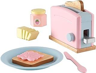 Kidkraft Toaster Set, Pastel - 3 Years & Above