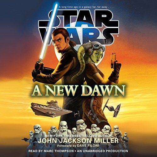 Page de couverture de A New Dawn: Star Wars