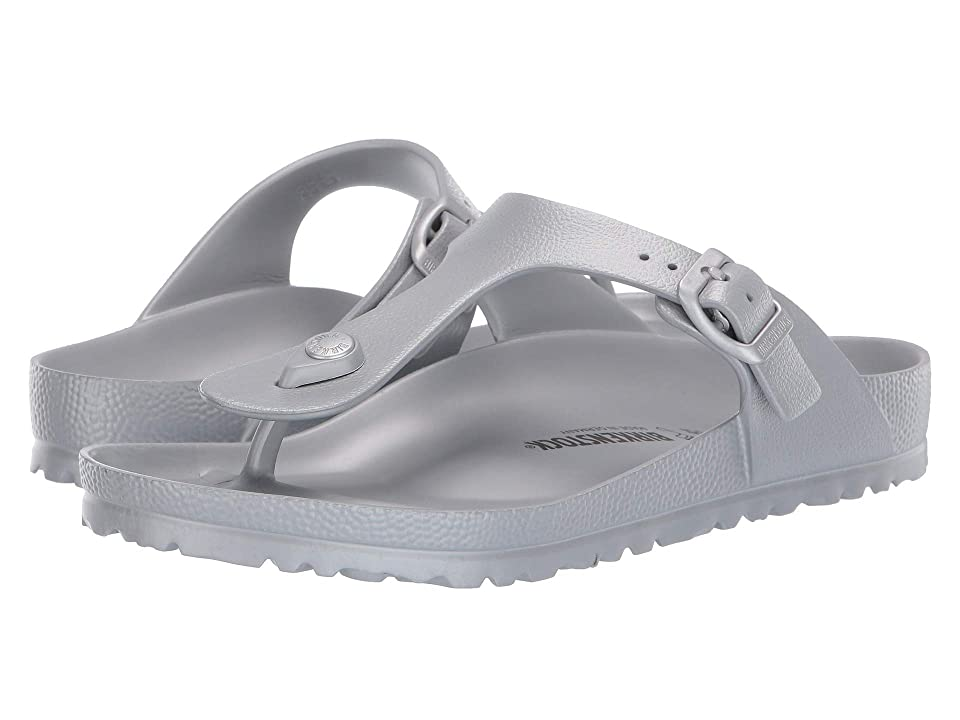 Birkenstock Gizeh Essentials (Metallic Silver) Women