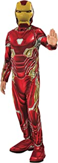 Rubie's Official Avengers Endgame Iron Man, Classic Child Costume - Small,