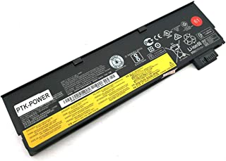 PTK-POWER 3Cell 24Wh 01AV427 01AV428 01AV423 Notebook Battery Replacement for Lenovo Thinkpad T470 T480 T570 T580 P51S P52S Laptop Batteries