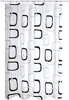 MSV Polyester Shower Curtain, Multi-Colour, 180 x 200 cm