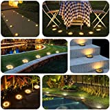 Immagine 2 bozhzo luci solari giardino lampade