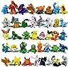 Funnyshow 70 pièces Ensemble de Jouets Pokemon, Pokémon Mini Figures Action Figurines Pokémon Bracelets Porte-clés Pokémon, pour Enfants et Adultes Party Celebration #2