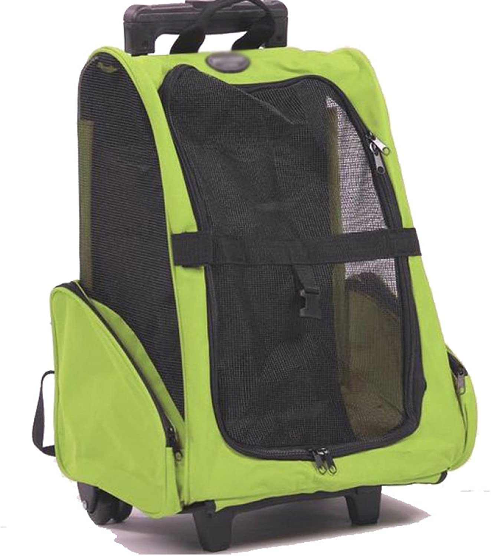 CAIJJ WLQ Pet Trolley Case  Pet Backpack  Backpack  Dog Out Backpack