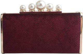 LETODE Abendtasche für Damen, aus Samt, elegant, Brautschmuck, Clutch, Party, Abschlussball
