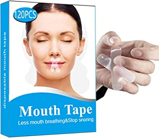 120 Pcs Sleep Strips,Anti Snoring Devices Advanced Gentle Mouth Tape for Sleeping Stop Snoring Mouth Tape for Better Nose ...