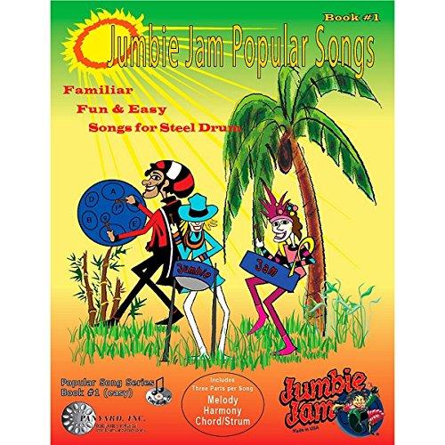 panyard jj5504Jumbie Jam Weihnachtslieder für Stahl Pan Buch mit cd-p Beliebtes Liederbuch 1
