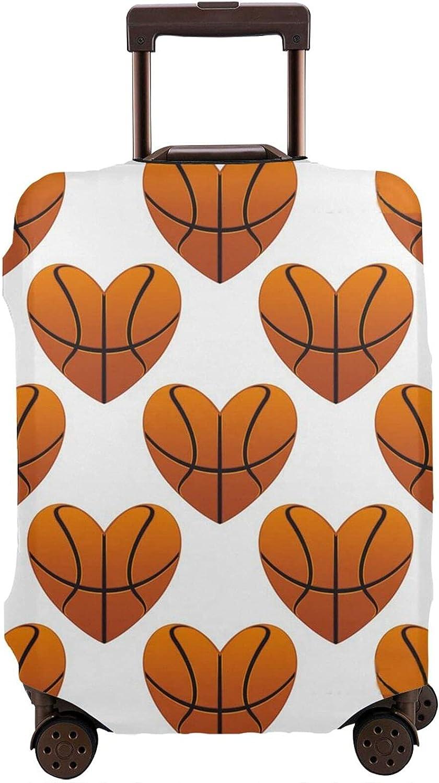 AORRUAM Popular Albuquerque Mall standard Basketball Heart Shape Suit Cover Luggage Travel