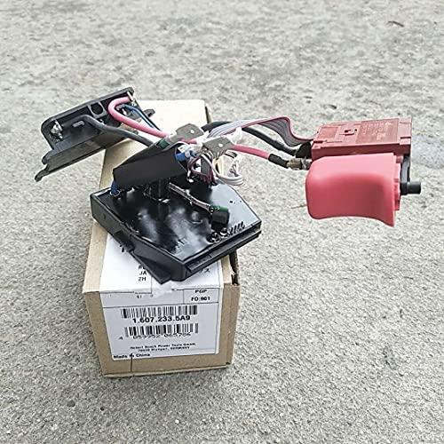 SDUIXCV Interruptor de módulo electrónico 16072335A9 para Taladro inalámbrico Bosch GSR18V-EC DDS18V HDS18V GSR18V-ECFC2 GSR14.4V-EC GSR14.4V-ECFC2