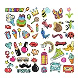 S SNUOY Diamond Painting 5D Stickers Kits for Kids Happy Birthday Style 52pcs Free Stickers Paint with Diamond Kits for Kids and Adult Beginners