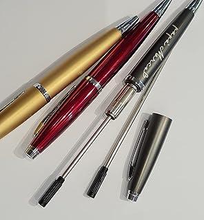 SET Ricambio refil penna con incisione personalizzata Alexia (nero)