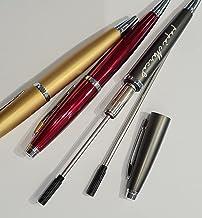 SET Ricambio refil penna con incisione personalizzata Alexia (blu)