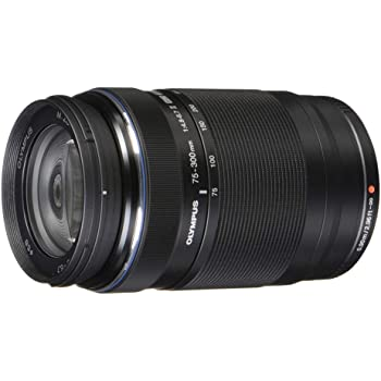Olympus M.Zuiko Digital ED 75 to 300mm II F4.8-6.7 Zoom Lens, for Micro Four Thirds Cameras