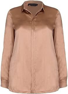 Marina Rinaldi Women's Boemia Silk Button Down Blouse