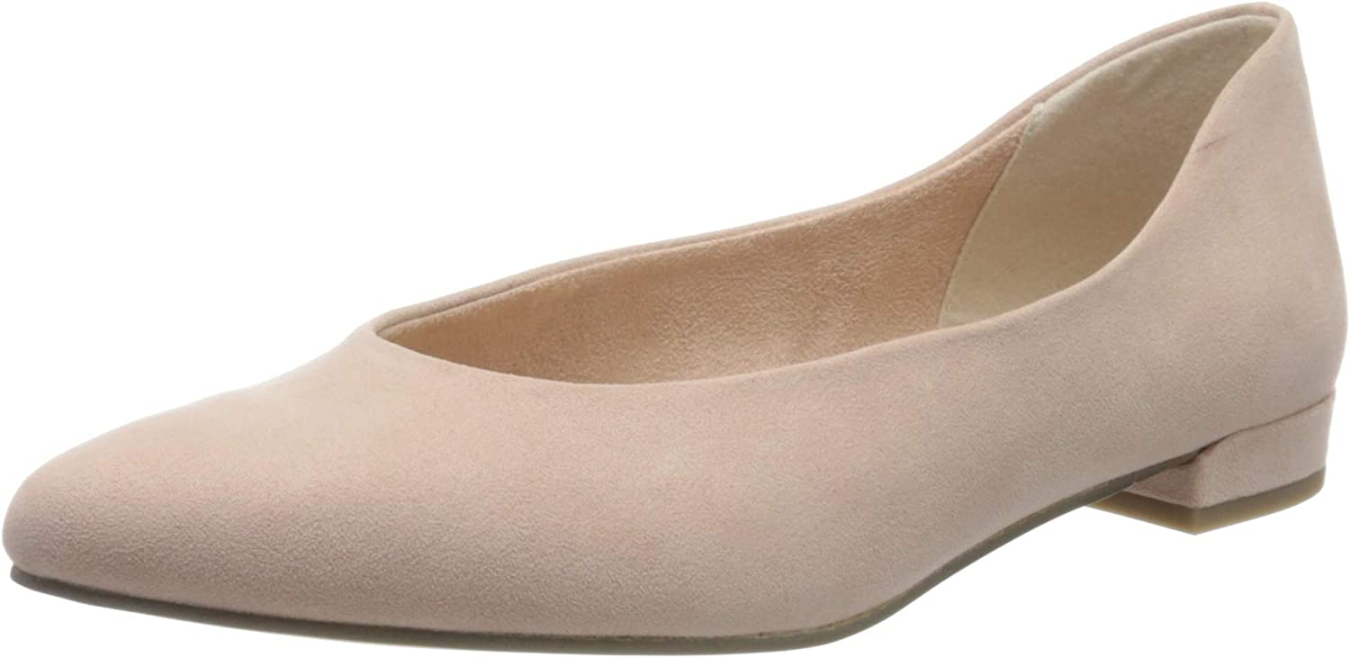 Marco Tozzi Women's Over Special Campaign item handling ☆ Closed Ballet Flats Toe