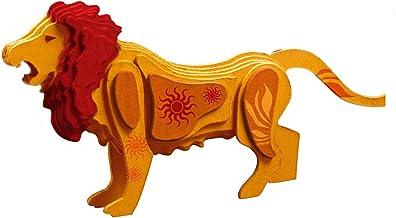 TruTru Animals Lion 3D European Puzzle Kit ; Arts and Crafts, Model Kit
