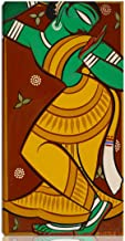 Berkin Arts Jamini Roy Stretched Giclee Print On Canvas-Famous Paintings Fine Art Poster Reproduction Wall Decor-Ready to Hang(Painting of Dancing Gopi)#NK