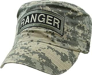 U.S. Army Ranger Flat Top Cap,Digital Camo,Adjustable